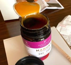 Open Jar Of Manuka
